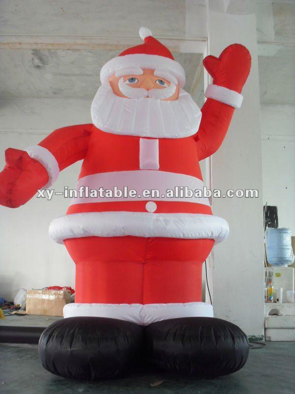 Christmas Inflatable Santa,Christmas Decoration Santa Claus, Inflatable  Western Christmas Decorations Santa