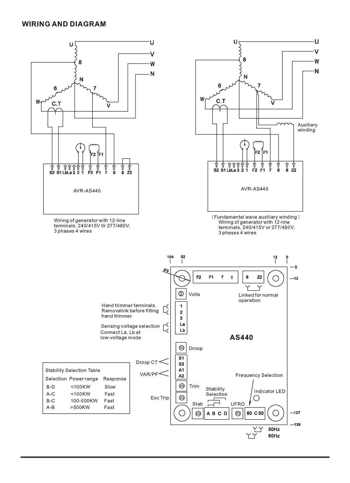 buy avr as440 generator automatic voltage. Black Bedroom Furniture Sets. Home Design Ideas