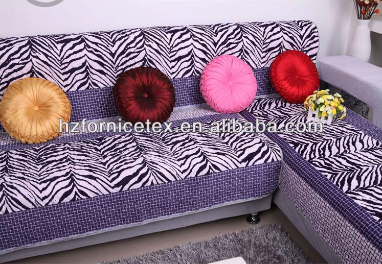New Design Zebra Print Fabric upholstery Fabric For Sofa Cover Lqx