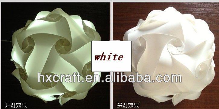 Flower Shape Iq Light/jigsaw/light Lampshade/lamp Home Deco/puzzle ...