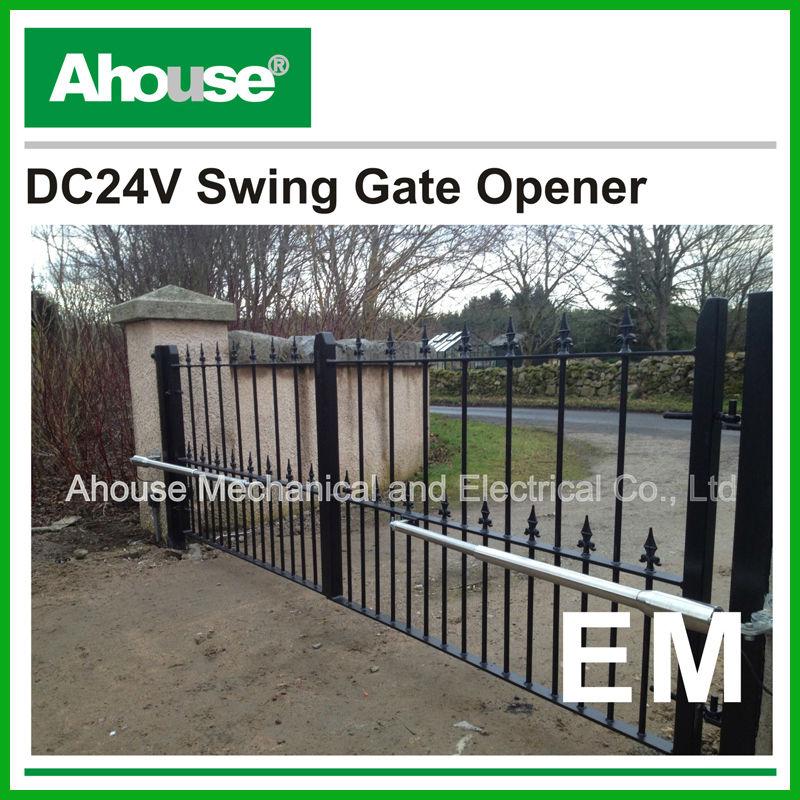 Ce Ip66 Dc Motor For Swing Gate/swing Gate Operator/solar Power ...