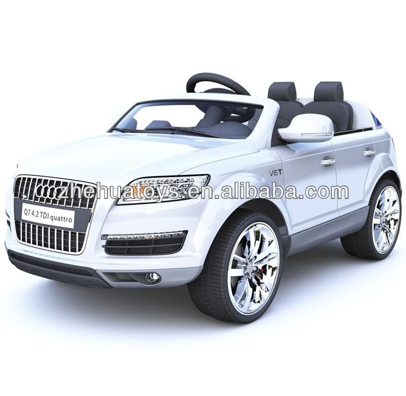 Nieuwste Audi Q7 Licesned 12 Volt Elektrische Auto Speelgoed Voor