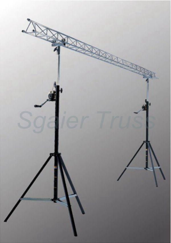 DJ CRANK 2-SYS CRANK UP TRUSS LIGHTING STAND SYSTEM FOR STAGE LIGHTS & Dj Crank 2-sys Crank Up Truss Lighting Stand System For Stage ... azcodes.com