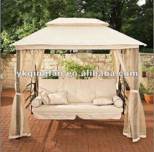 Garden Canopy Gazebo Swing