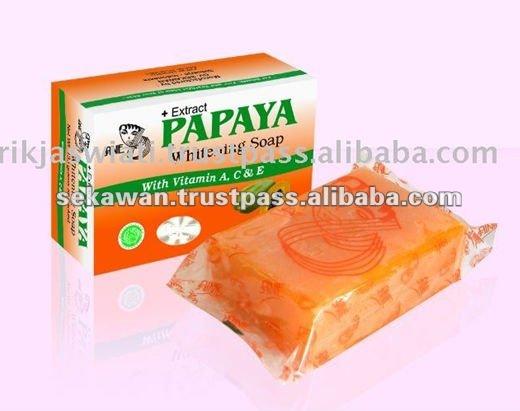 Papaya facial soap