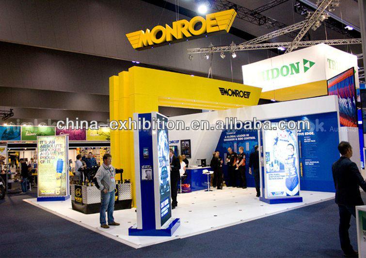 Portable Exhibition Booth Design : Portable folding for exhibition display event booth design