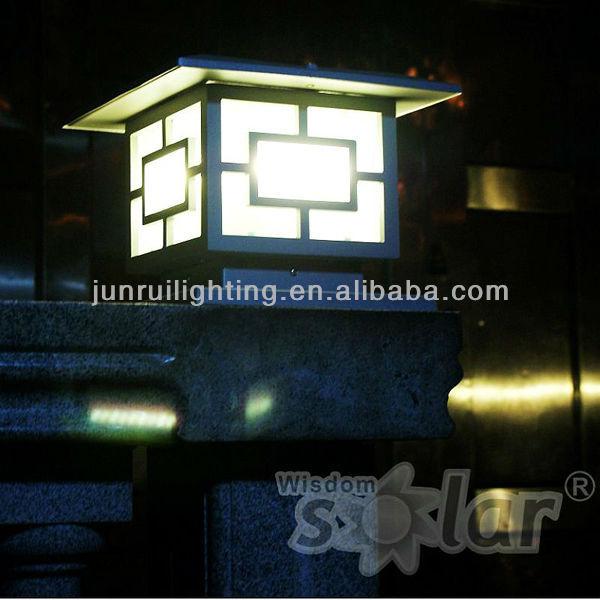 Wholesale CE Solar LED Garden Light For Outdoor Lighting Pillar Lamp
