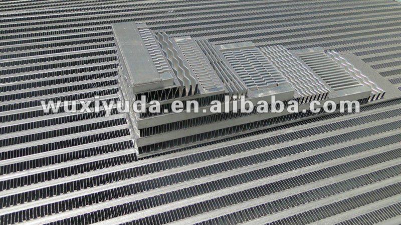 Aluminum Intercooler Core Aluminum Oil Cooler Core