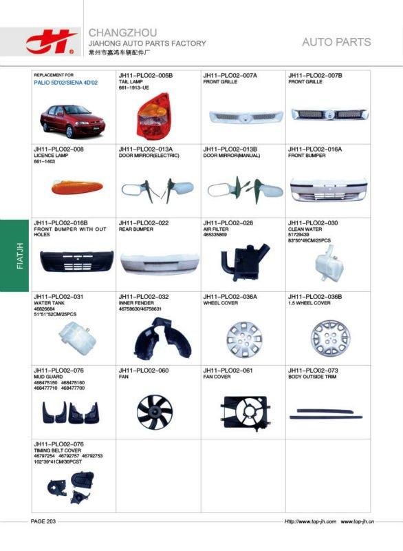voiture pour fiat palio 5d 39 02 siena 4d 39 02 pi ces de rechange page203 buy voiture pour. Black Bedroom Furniture Sets. Home Design Ideas