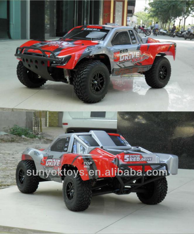 1:10 Rc Rally Truck Model;traxxas; 4x4 Rc Drift Car