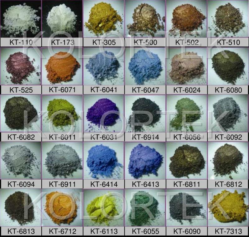 Kolortek Metallic Epoxy Pigments Floor Epoxy Resin