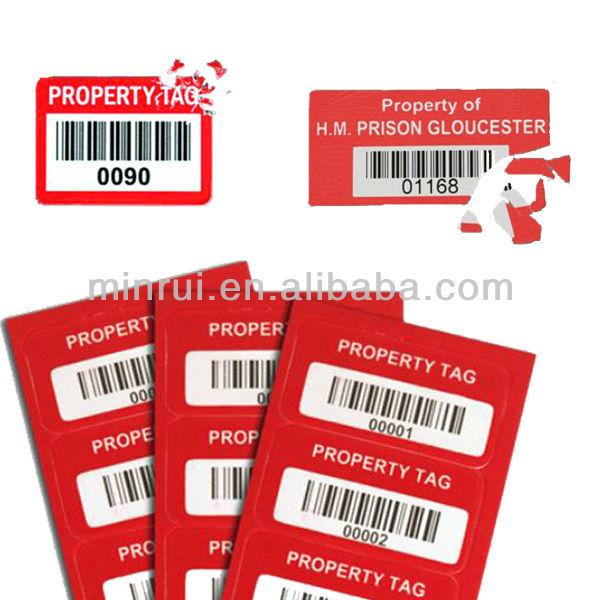 Inventory Asset Tags,Laptop Asset Tags,Asset Stickers - Buy Asset ...