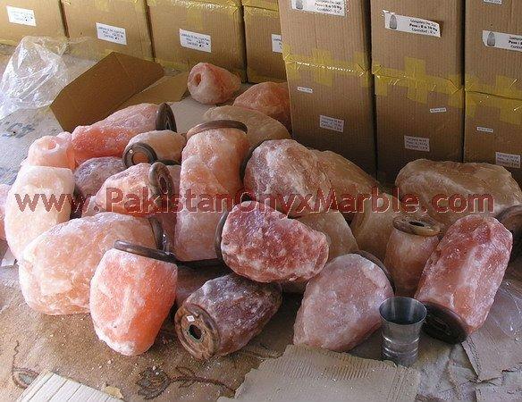 Natural salt lamps himalayan salt salt blocks and animal for Buy pink himalayan salt lamp