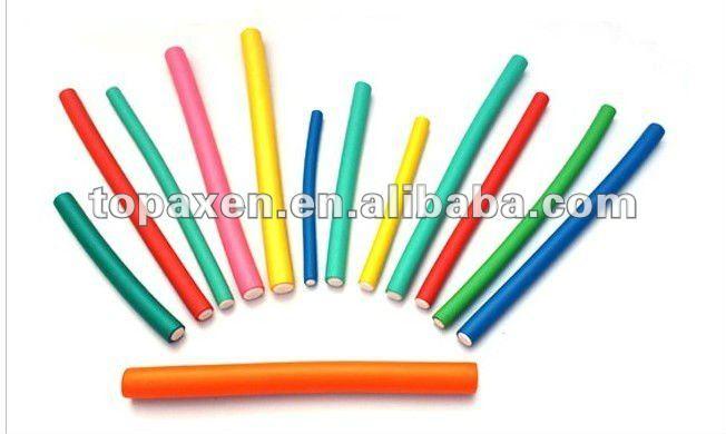 Flexible Soft Twist Perm Rods Hair Roller Rulo Plastico