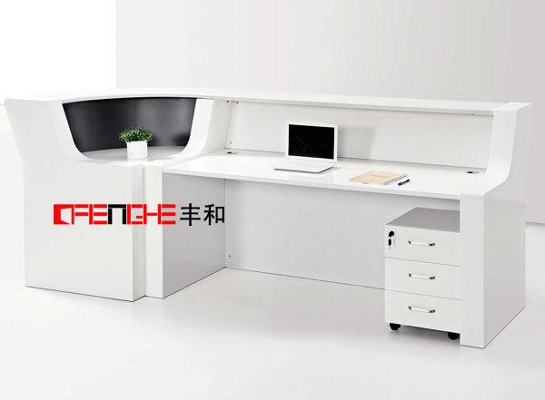 Modern beauty marble l shaped reception desk lhq 003 buy for L shaped salon reception desk
