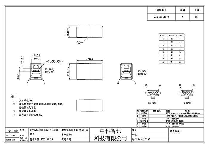 Rj45 Coupler Wiring Diagram : Cat coupler wiring diagram gallery