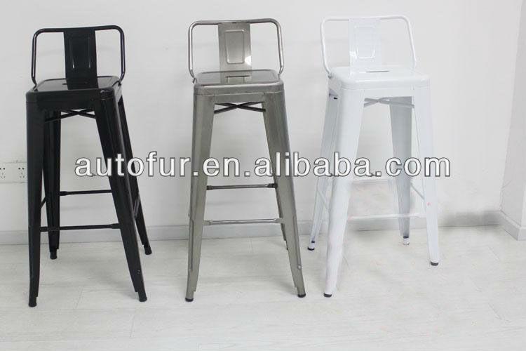 Vintage Marais Furniture Metal Legs Bar Stool