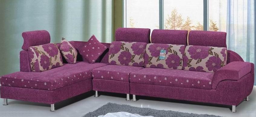 Bright Colored L Shape Sofa Cum Bed Buy Bright Colored