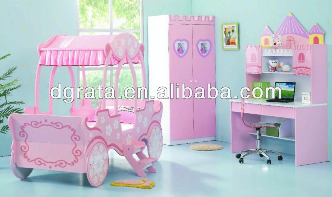 carro rosado nias dormitorio conjunto es el diseo para nios en e tablero mdf y