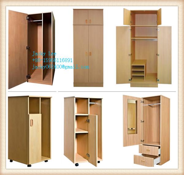 Birch melmained mdf or chipboard design veneer wardrobe