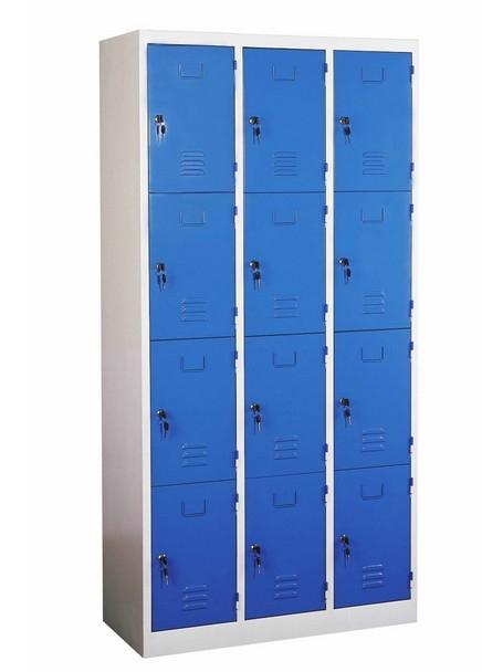 Customized school lockers for sale safe public use 12 door for 12 door lockers