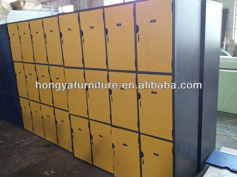 Wooden Locker With Metal Frame School Locker Library