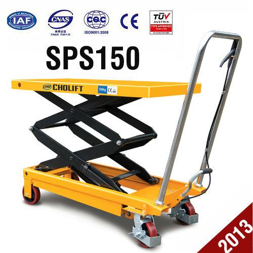 Mini Hydraulic Scissor Lift : Manual kg mini scissor hydraulic lift table