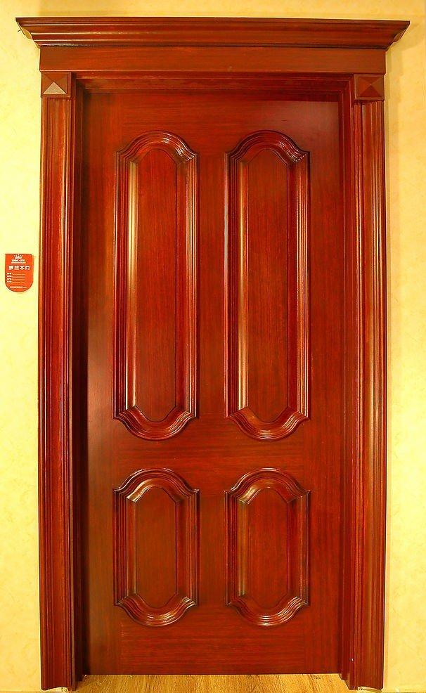 Pvc wood doors wooden bifold doors arch interior doors for Maderas para puertas de exterior