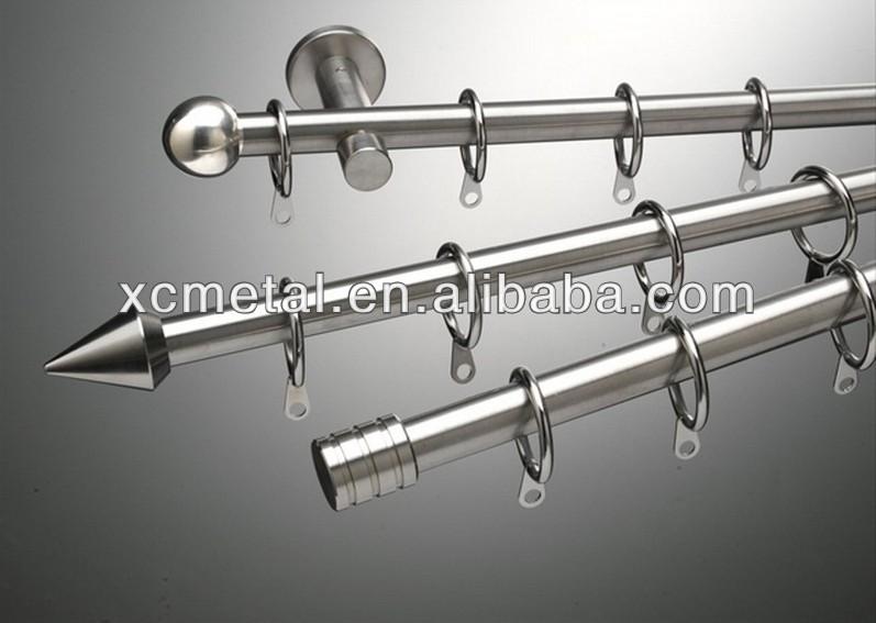 Plastic Gordijn Haakjes : Roestvrij staal gordijn buis met accessoires groothandel buy