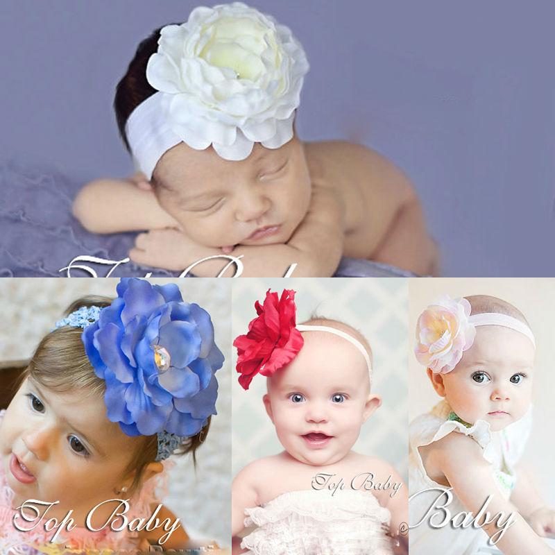 topbaby flor del pelo del beb accesorio cintas para el pelo para nias headwear moda