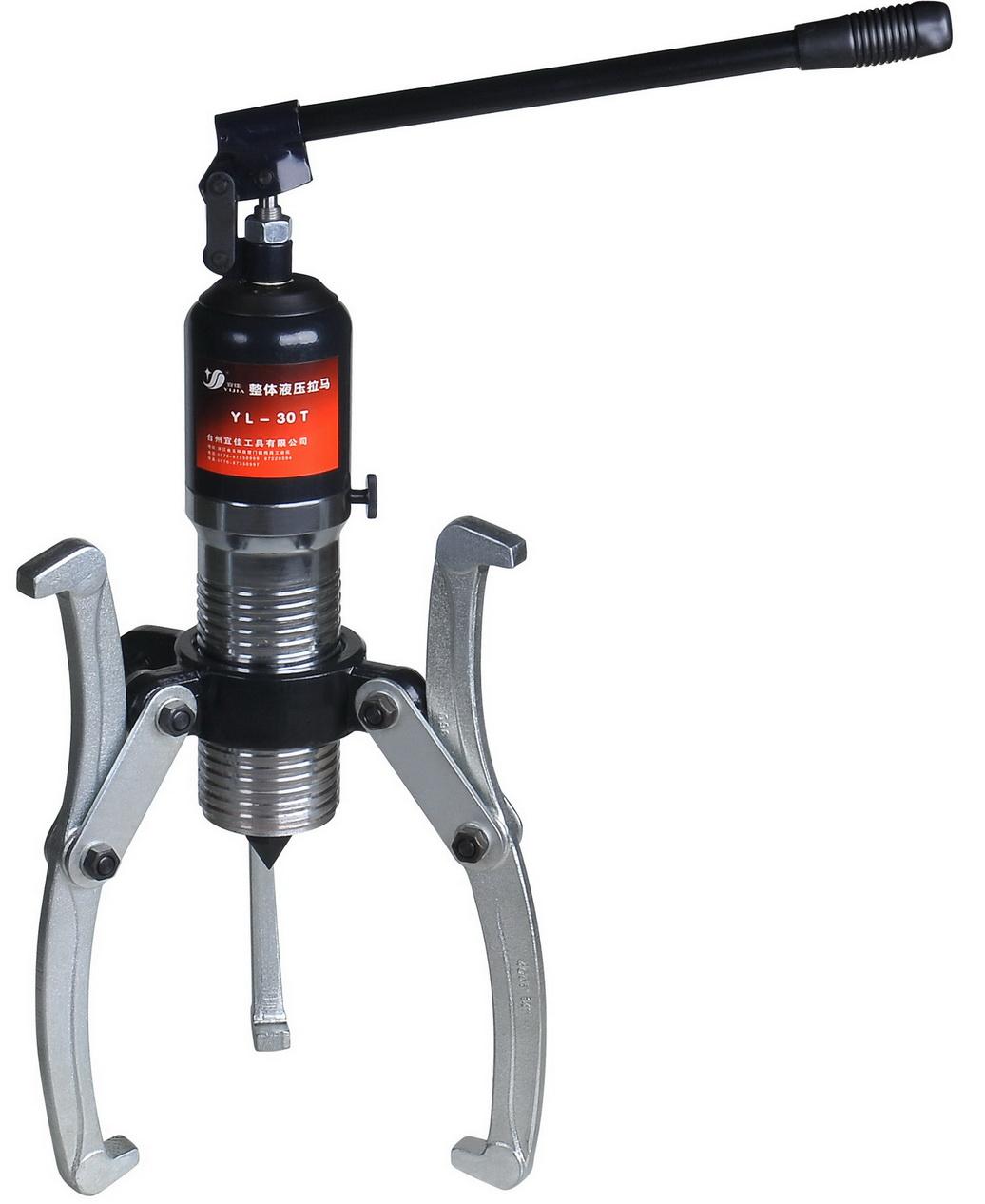 Hydraulic Bearing Puller Mini Project : Hydraulic gear puller bearing pilot