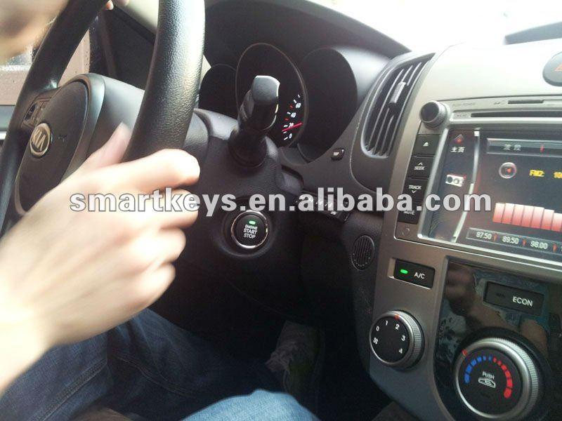 Rfid Car Alarm Bypass Keyless Push Button Start Pke Alarm With ...
