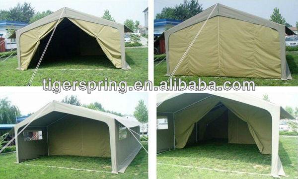 Comfortable semi permanent canvas tent patterns buy for Semi permanent tent