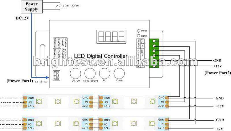 Addressableprogrammable flexible dmx rgb led strip lightdigital addressableprogrammable flexible dmx rgb led strip lightdigital led strip diy program mozeypictures Gallery