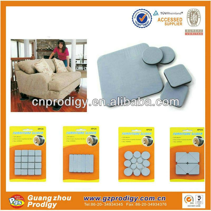 Easy Slide Glides For Furniture Moving Teflon Furniture Pads