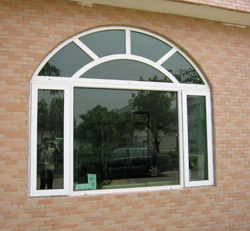 Ventana de pvc estilo de europa ventana deslizante con for Marcos de pvc para ventanas