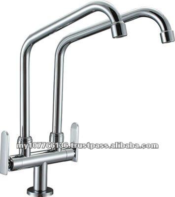 Double Spout Kitchen Sink Tap (fetone) (tf-6-dpsl) - Buy Kitchen ...