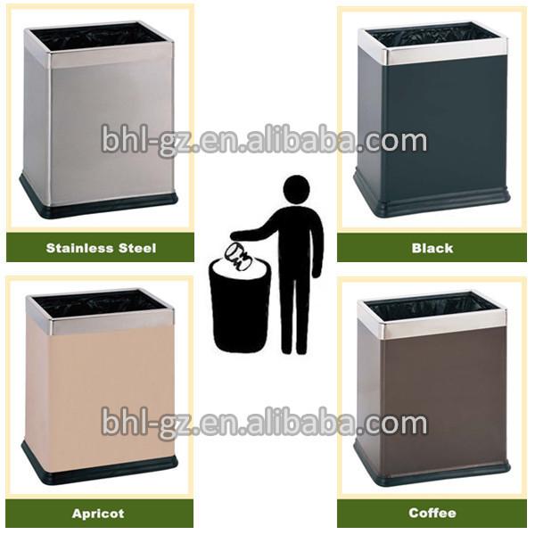 Household Simple Waste Bin ,office Wastebasket GPX 115(Coffee),China  Manufacturer