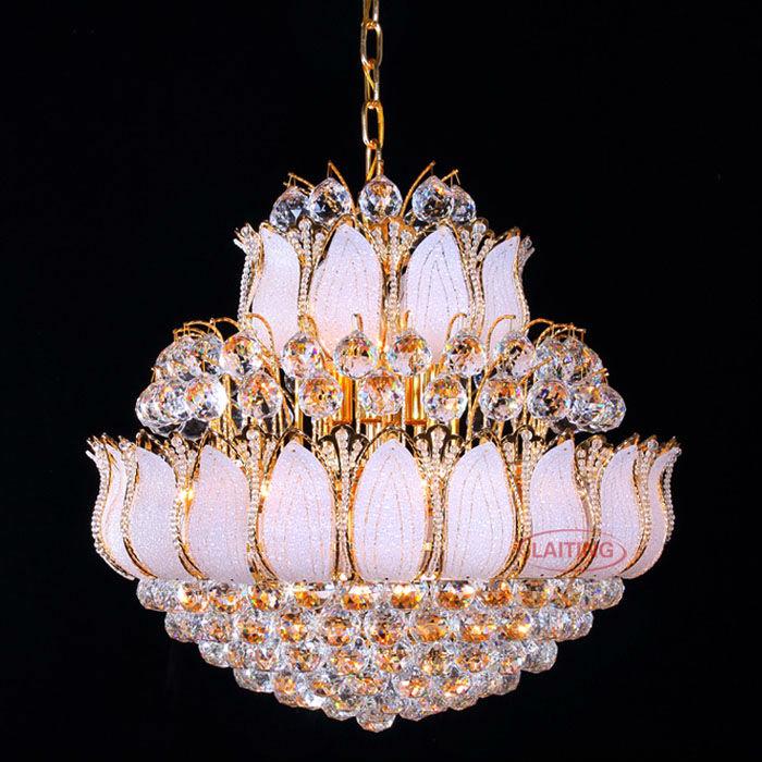 Fancy Glas Blume Kristallkugel Kronleuchter Indien Kronleuchter Beleuchtung  72033