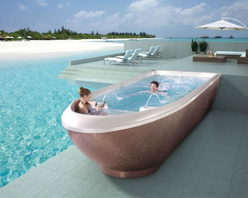 Endless Pool Liquid Acrylic Swimming Pool Fs P12 12 Meter Long Buy Swimming Spa Swim Spa Swim