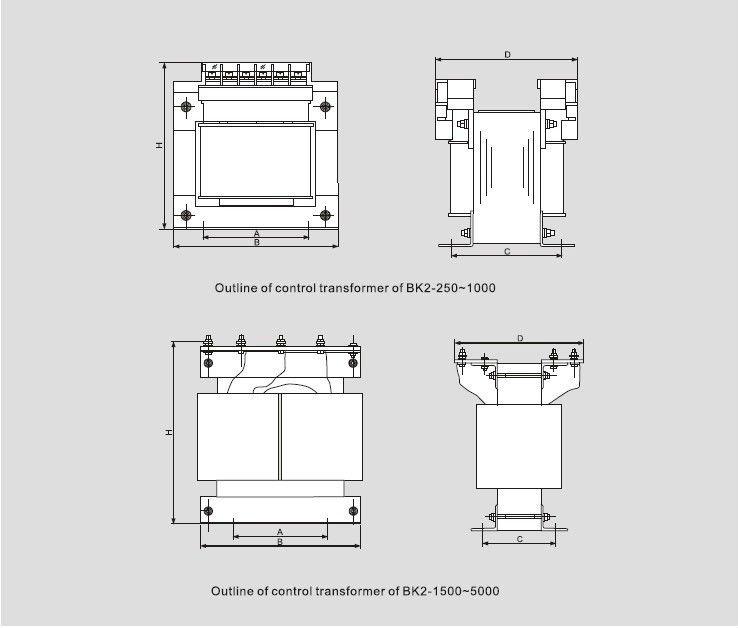 bk2 control transformer spot welding transformer