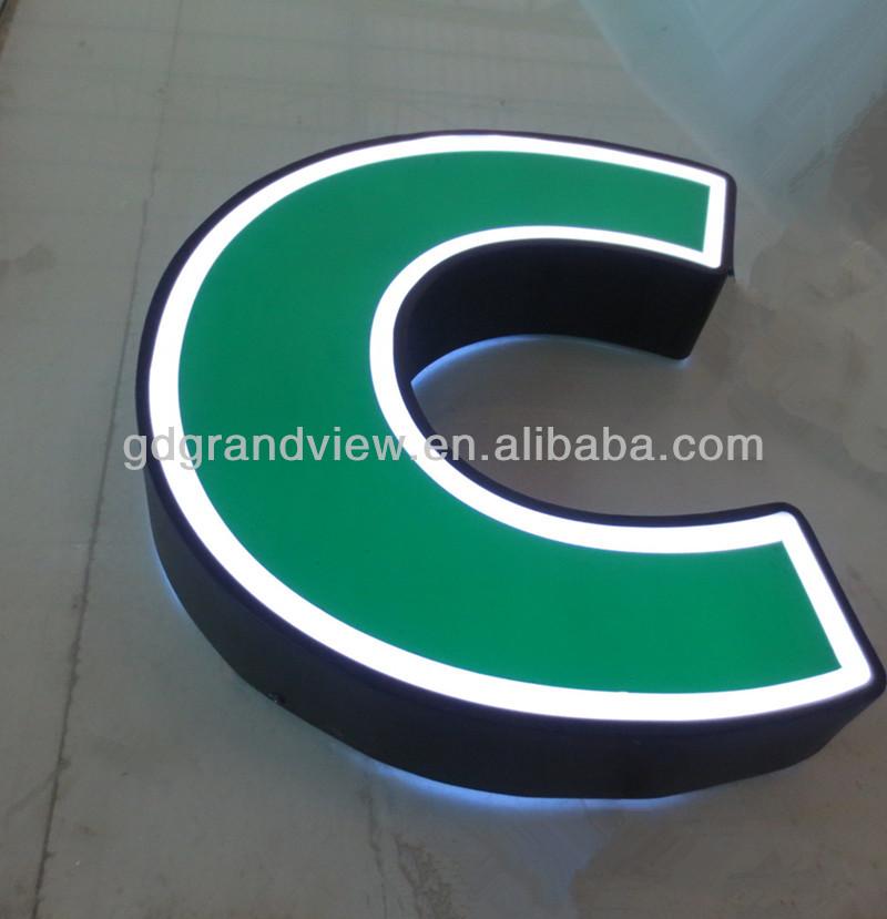 Acrylic 3d Cheap Large Plastic Letters