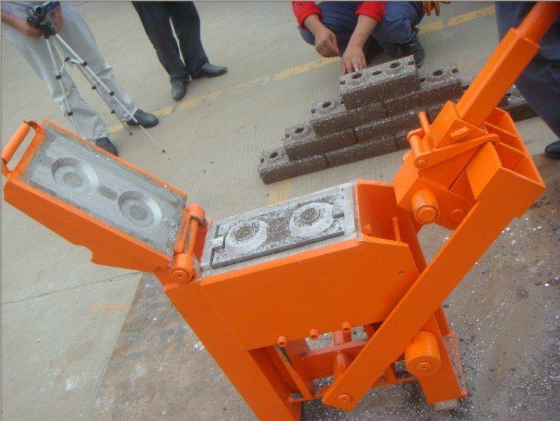 Blocks Interlocking Press Earth Us : Qmr compress earth brick machine no power buy