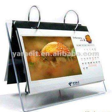 2013 De Haute Qualit Acrylique Calendrier De Bureau Personnalis