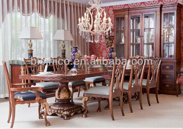 Luxury Dining Room Furniture Set Antique Classical Dining Sets Furniture Brit