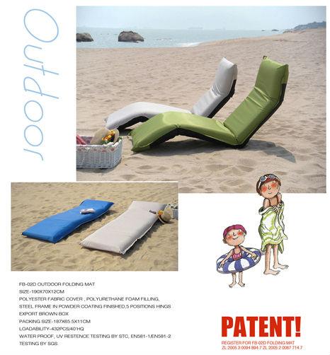 folding waterproof beach lounge chairs beach chair