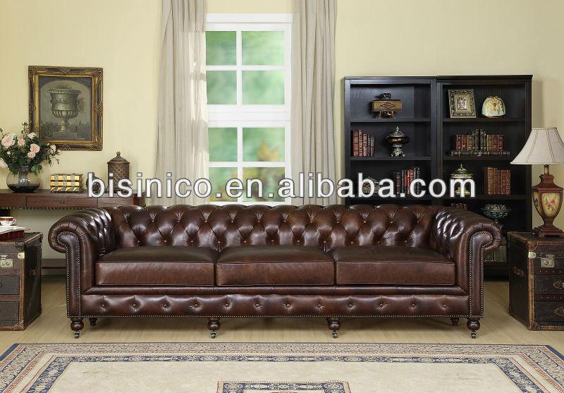 Wohnzimmer Sofa Im Amerikanischen Stil,Wohnzimmermöbel Aus Leder (b14148) -  Buy Wohnzimmer Sofa Leder,Leder Sofa,Wohnzimmer Möbel Product on ...
