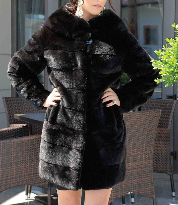 Blackglama Mink Coat Latest Design - Buy Mink Fur Coat Product on ...