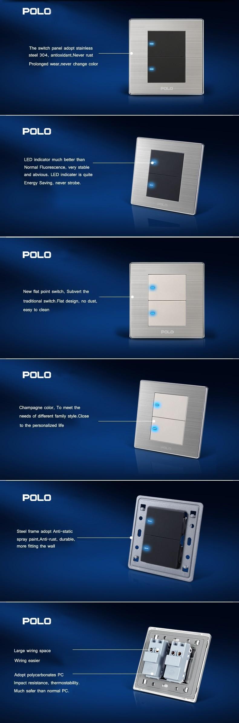 Luxury Wall Switch Panel Led Panel Light Switch  U2013 Wholesale Wholesaler Free Shipping  Luxury