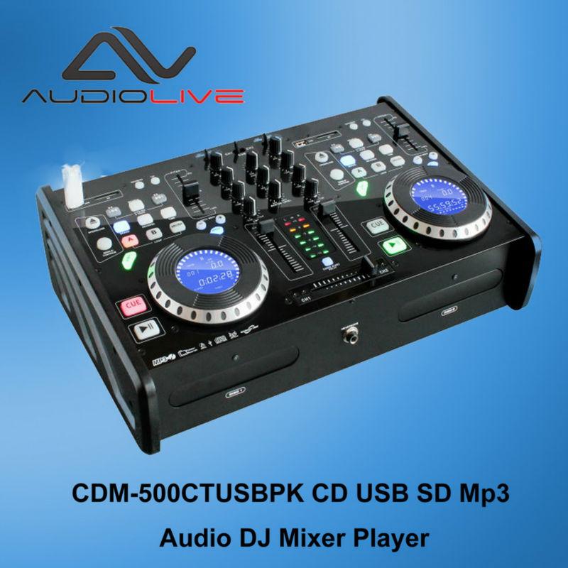 China Wholesale Ce Standard Cd Usb Sd Mp3 Player Dj Audio Mixer ...
